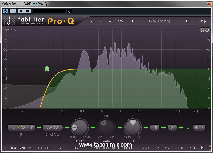 EQ - HighPass Filter