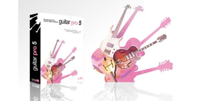 Guitar Pro 5 - Phần mềm viết nhạc