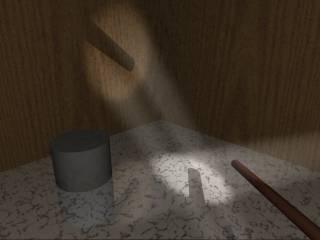 Âm thanh cũng phản xạ với các bề mặt như ánh sáng