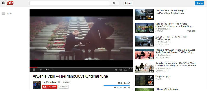 ThePianoGuys - Thành danh từ YouTube