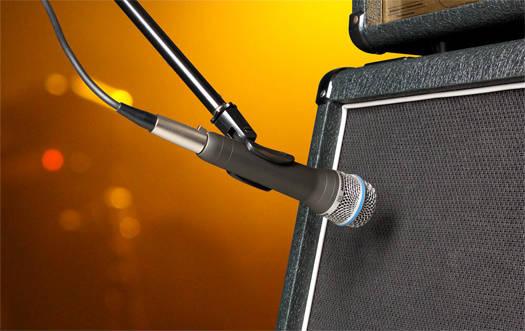 Đặt miccrophone sát nguồn âm để loại bỏ sóng âm phản xạ