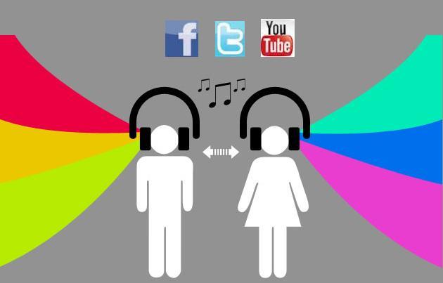 Lựa chọn mạng xã hội để tiếp thị âm nhạc