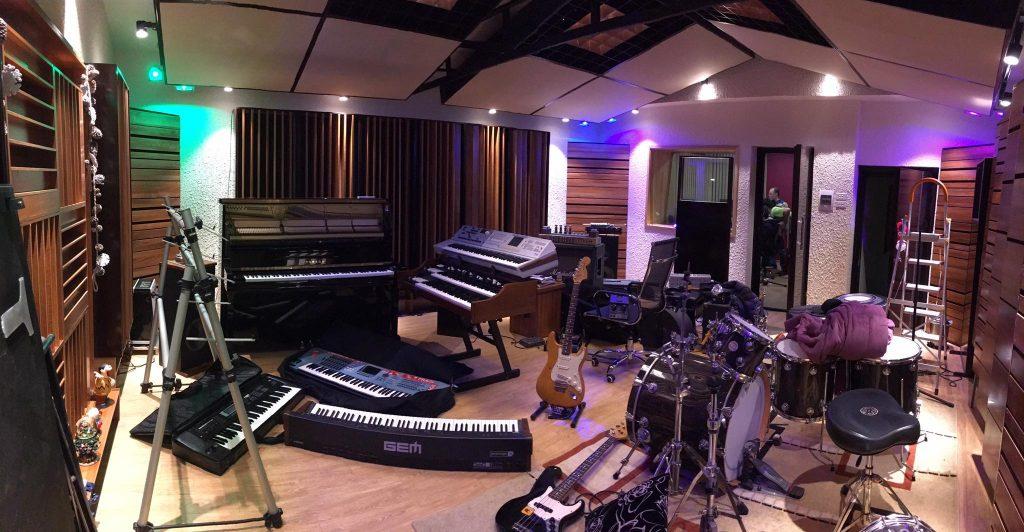 Live Room của The 8th Note Studio tại Ngọc Khánh, Hà Nội