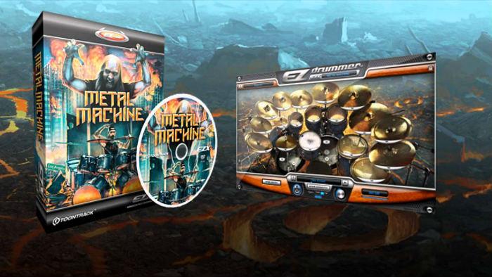 Metal Machine EZX – Expansion yêu thích của tôi khi làm phần drums cho Mind's Mirror