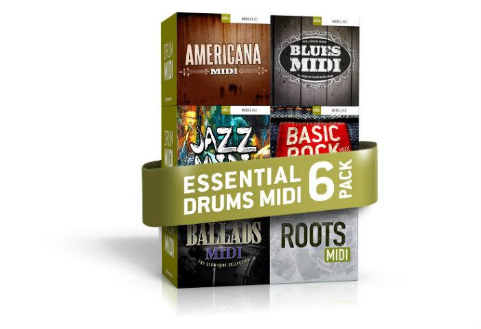 Rất nhiều MIDI mẫu theo các style khác nhau cho bạn chọn