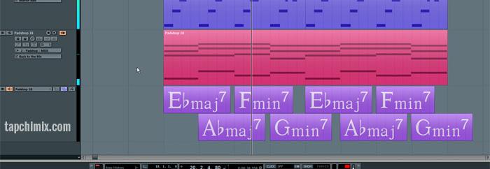 Chord Track - Bồ nhí của các nhà soạn nhạc, hòa âm phối khí