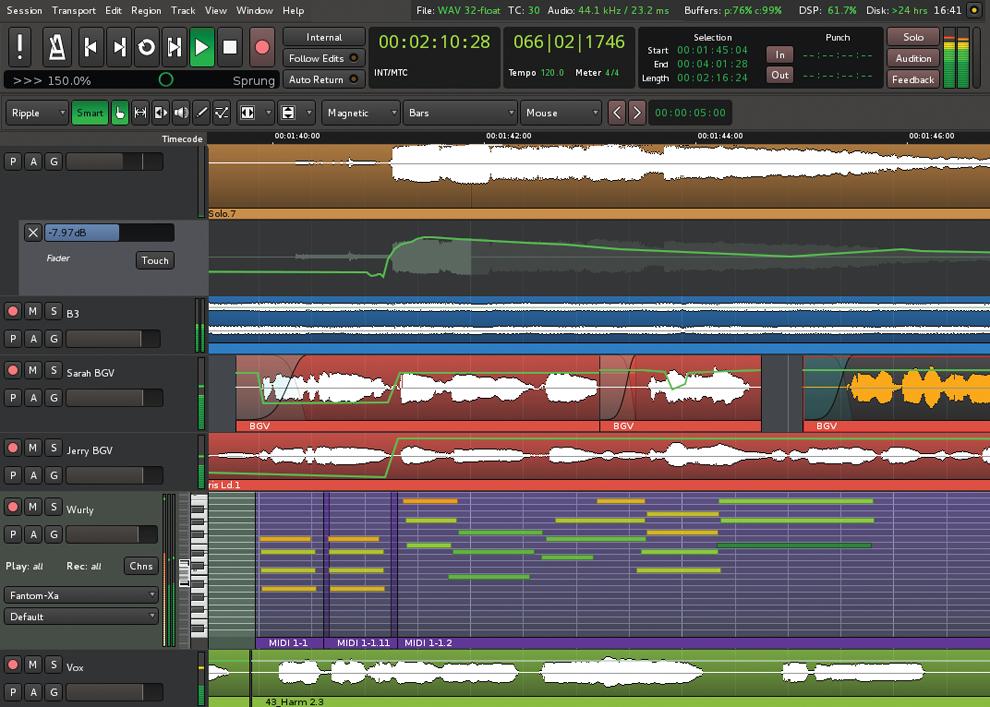 Chơi tuốt Audio, MIDI