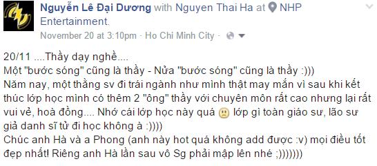 Nguyễn Lê Đại Dương - Sound Engineer 2.0