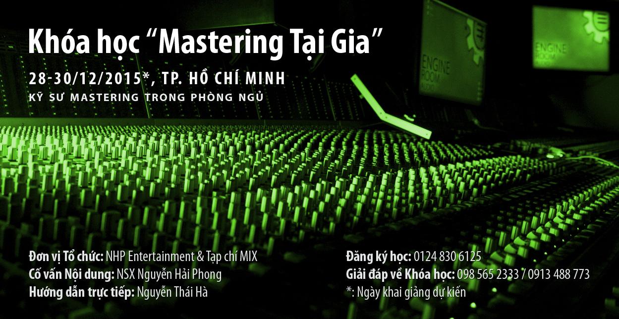 Khóa học Audio Mastering tại gia