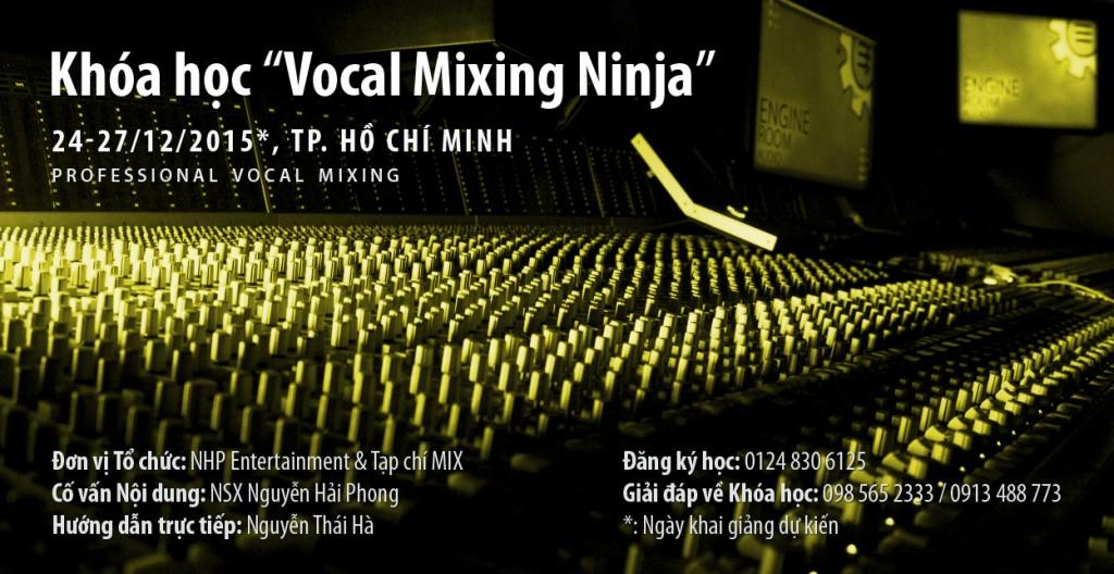 Khóa học Vocal Mixing Ninja: Rèn luyện Kỹ năng Mix Vocal Sắc bén