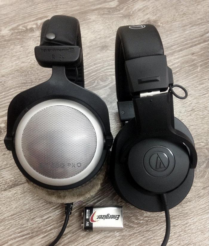 EarCub ATH-M20x vs DT880 Pro
