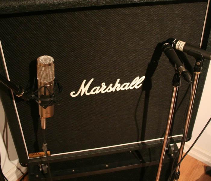 Thu âm Electric Guitar bằng microphone