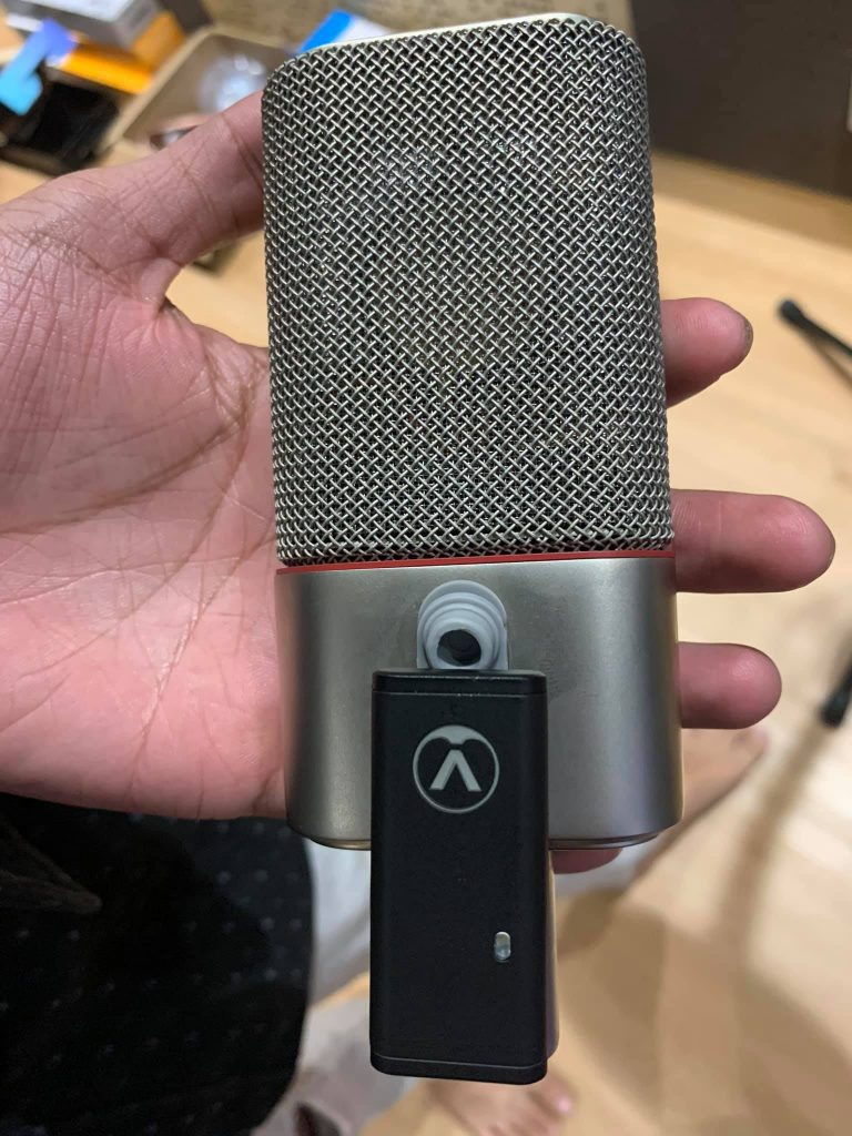 Austrian Audio OC818 with dongle