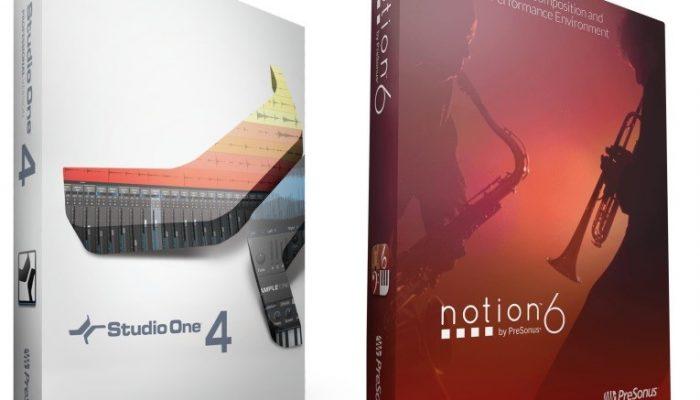 Studio One & Notion 6