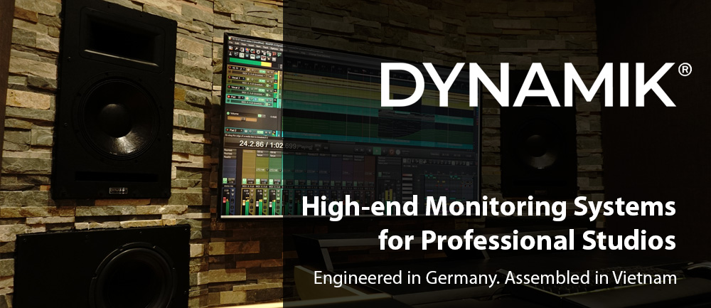 DYNAMIK Pro Studio Monitors