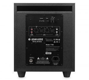 Adam T10S - Bảng điều khiển và Poweramp